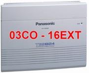 Tổng đài Panasonic KX-TES824 3CO-16EXT
