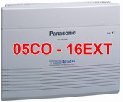 Tổng đài điện thoại Panasonic KX-TES824 - 5CO-16EXT
